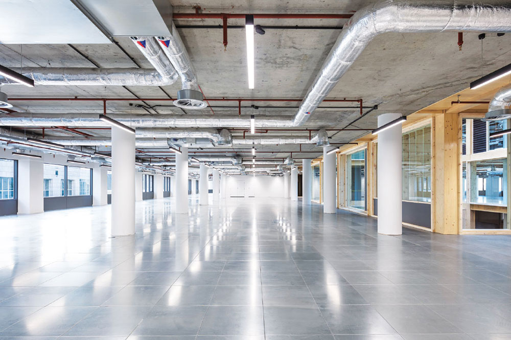 Import Building empty office space