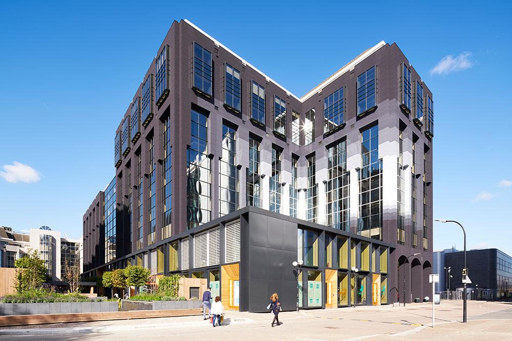 Republic London Scott King designed facade