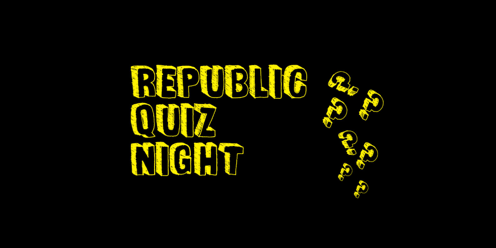 Republic Quiz Night Poster