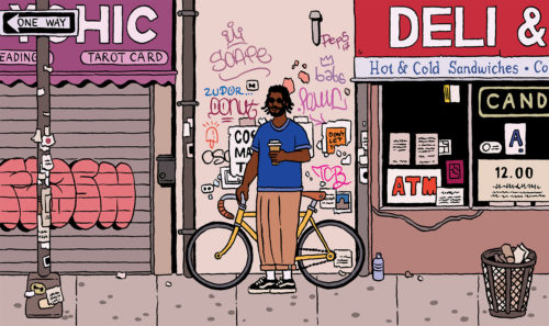 Bushwick Creative Community Illustration