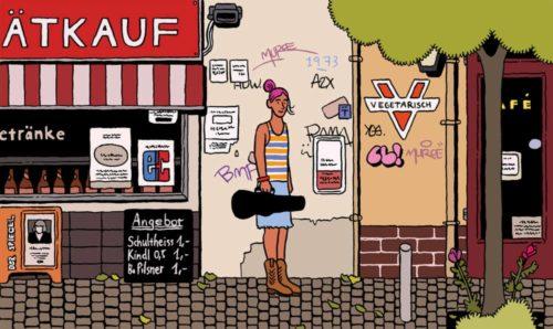 East Berlin Creative Community Illustration