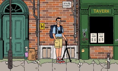 Northern Quarter Manchester Creative Community Illustration