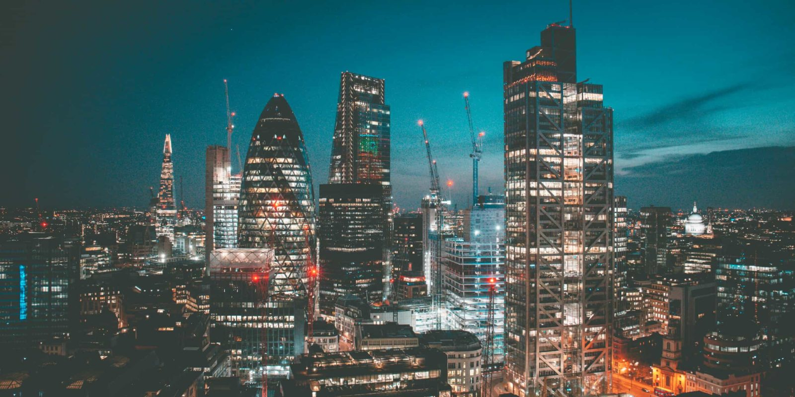 London office skyline