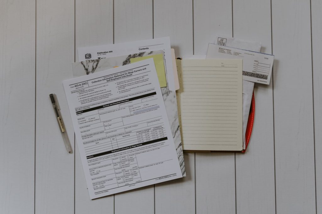 Taxes and covenant papers for office in london
