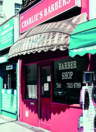 Charlie's Barbers in Poplar