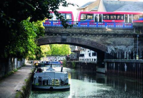 Canal and Bridge Limehouse Cut