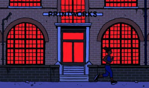 The Printworks London Events Space Illustration