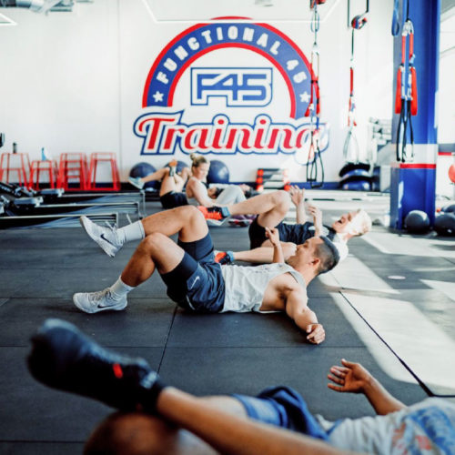 F45 Festive Fitness Class