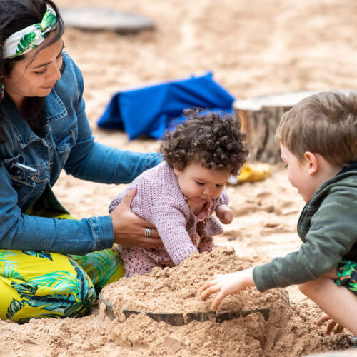 Come and play in our sandpit!